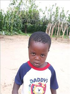Choose a child to sponsor, like this little boy from Keembe, Jestone age 2