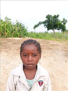 Choose a child to sponsor, like this little girl from Keembe, Maureen age 4