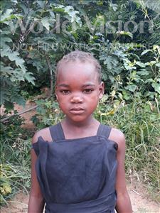 Choose a child to sponsor, like this little girl from Keembe, Estelle age 6