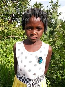 Choose a child to sponsor, like this little girl from Keembe, Esther age 6