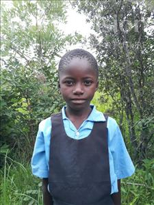 Choose a child to sponsor, like this little girl from Keembe, Milika age 7