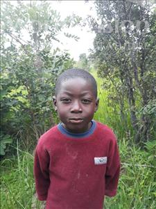 Choose a child to sponsor, like this little boy from Keembe, Enerst age 6