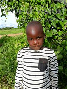 Choose a child to sponsor, like this little boy from Keembe, Festers age 5