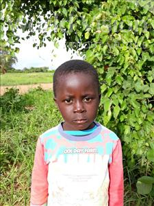 Choose a child to sponsor, like this little boy from Keembe, Ethan age 5