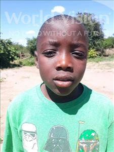 Choose a child to sponsor, like this little boy from Keembe, Benias age 11