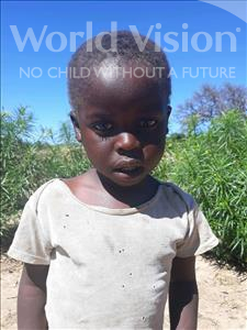 Choose a child to sponsor, like this little boy from Keembe, Daswell age 3