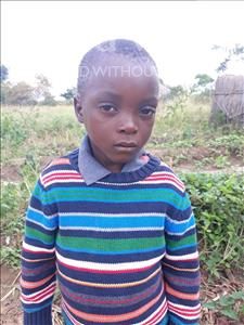 Choose a child to sponsor, like this little boy from Keembe, Cassius age 5