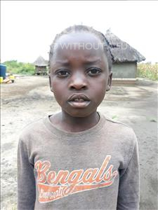 Choose a child to sponsor, like this little girl from Keembe, Alice age 8