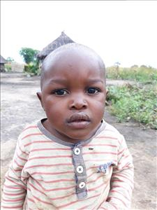 Choose a child to sponsor, like this little boy from Keembe, Luck age 2