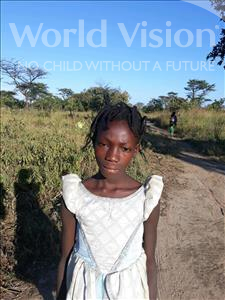 Brenda, aged 10, from Zambia, is hoping for a World Vision sponsor