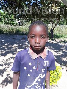 Chriswell, aged 9, from Zambia, is hoping for a World Vision sponsor