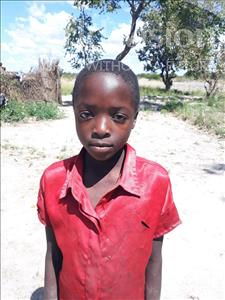 Choose a child to sponsor, like this little girl from Keembe, Mildred age 7