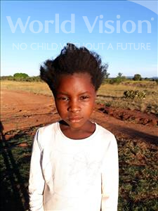 Choose a child to sponsor, like this little girl from Keembe, Mweengu age 7