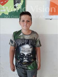 Choose a child to sponsor, like this little boy from Shkodra, Ernesto age 12