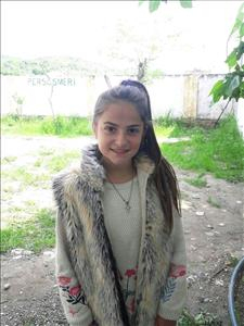 Choose a child to sponsor, like this little girl from Shkodra, Melisa age 13