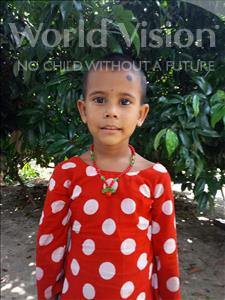Choose a child to sponsor, like this little girl from Ghoraghat, Tamima age 5
