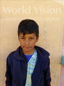 Choose a child to sponsor, like this little boy from Mosoj Punchay, Leonel Amar age 10