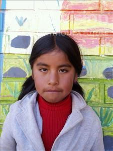Choose a child to sponsor, like this little girl from Mosoj Punchay, Gladys age 8