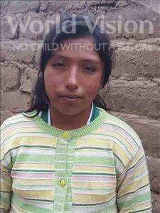 Choose a child to sponsor, like this little girl from Khantati, Elvia age 13