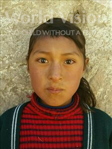 Choose a child to sponsor, like this little girl from Khantati, Nohemy age 8
