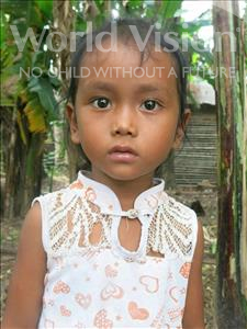 Virath, aged 4, from Cambodia, is hoping for a World Vision sponsor