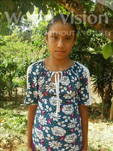 Choose a child to sponsor, like this little girl from Maya, Glendy Esperanza age 12