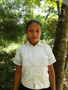 Choose a child to sponsor, like this little girl from Maya, Keyli Yulissa age 12