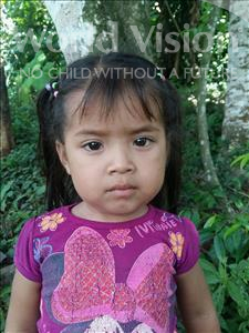 Choose a child to sponsor, like this little girl from Maya, Aylin Eliana age 2