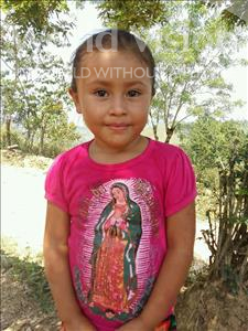 Choose a child to sponsor, like this little girl from Maya, Yulissa Elizabeth age 5