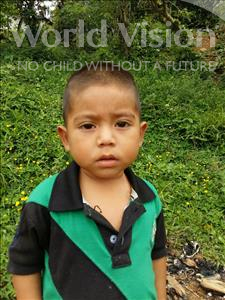 Choose a child to sponsor, like this little boy from Maya, Cristian Geovanny age 3