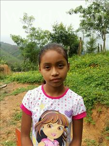 Choose a child to sponsor, like this little girl from Maya, Nayeli Lizeth age 9