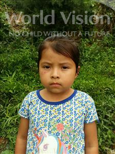 Choose a child to sponsor, like this little girl from Maya, Darling Nohemi age 5