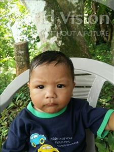 Choose a child to sponsor, like this little boy from Maya, Dany Audy age 1