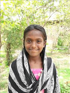 Choose a child to sponsor, like this little girl from Bhojpur, Choti age 12