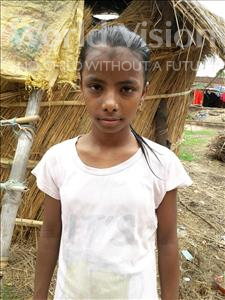 Choose a child to sponsor, like this little girl from Bhojpur, Sakshi age 13