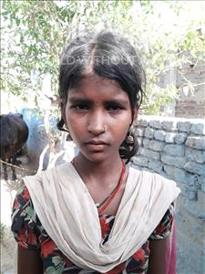 Choose a child to sponsor, like this little girl from Bhojpur, Rajmuniya age 13