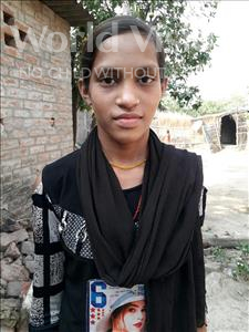 Rubi, aged 12, from India, is hoping for a World Vision sponsor