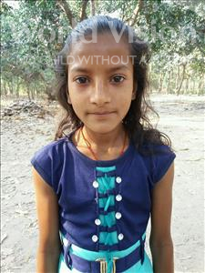Choose a child to sponsor, like this little girl from Bhojpur, Preeti age 11