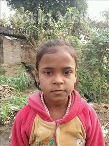 Choose a child to sponsor, like this little girl from Bhojpur, Akancha age 8