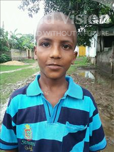Choose a child to sponsor, like this little boy from Bhojpur, Praduman age 10