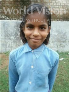 Choose a child to sponsor, like this little girl from Bhojpur, Parvati age 10