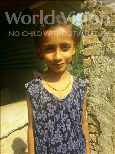 Choose a child to sponsor, like this little girl from Bhojpur, Anjali age 10