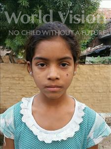 Prity, aged 12, from India, is hoping for a World Vision sponsor