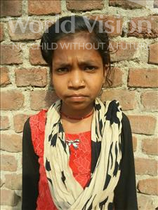 Choose a child to sponsor, like this little girl from Bhojpur, Sony age 13