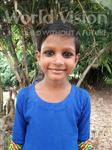 Aasiya, aged 5, from India, is hoping for a World Vision sponsor