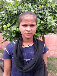 Choose a child to sponsor, like this little girl from Bhojpur, Seema age 12