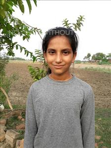Choose a child to sponsor, like this little girl from Bhojpur, Aditi age 10