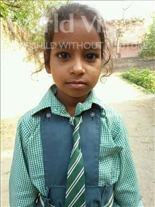 Choose a child to sponsor, like this little girl from Bhojpur, Aprajeeta age 6