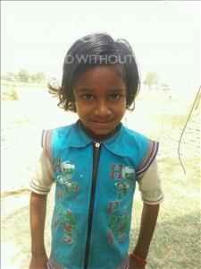 Choose a child to sponsor, like this little girl from Bhojpur, Anshu age 8