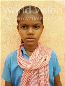 Basanti, aged 12, from India, is hoping for a World Vision sponsor